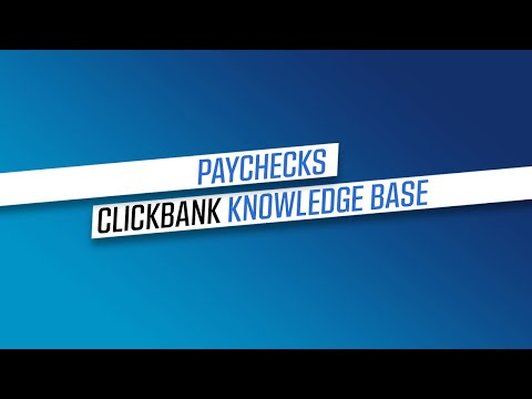 How We Pay You – ClickBank Knowledge Base