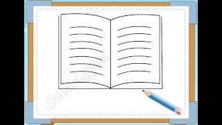 BÉ HỌA SĨ - Thực hành tập vẽ 83: Vẽ quyển vở