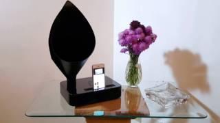 iPhone 5s on Callisto Gramophone - Energy-Free Docking Station