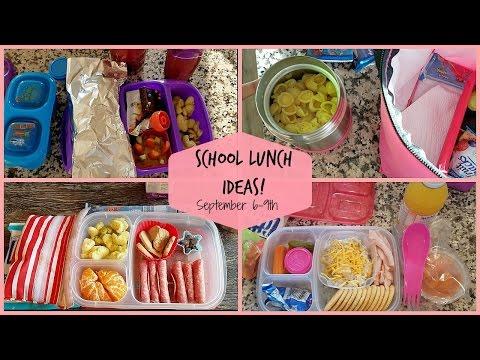School Lunch Ideas! Back To School Ep.3