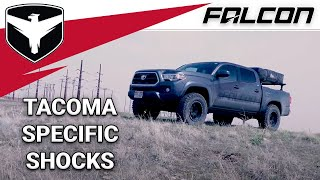 Falcon Shocks: Tacoma Sport Tow/Haul Leveling System