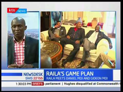 Raila's game plan as he meets Former President Daniel Moi and Senator Gideon Moi