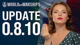 Dasha Presents Update 0.8.10 | World of Warships
