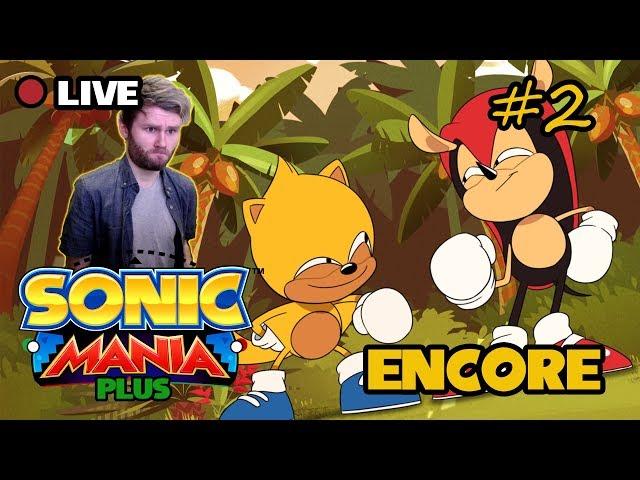Sonic Mania: Encore Mode - P2, All Emeralds!