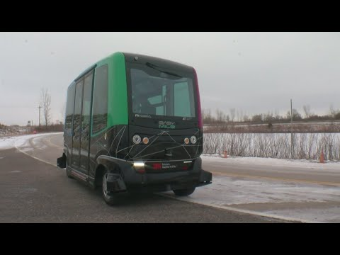 Driverless Buses Tested In Minnesota's Winter Weather