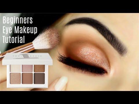Beginners Eye Makeup Tutorial   How To Apply Eyeshadow   TheMakeupChair