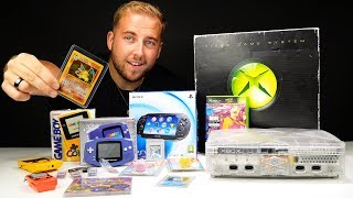 £200 Retro Gaming Haul - Finding A Crystal XBOX