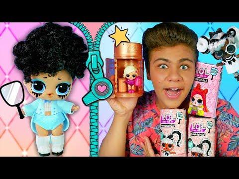 Бига в ШОКЕ от ЛОЛ HAIRGOALS! 😱 Мои новые волосатые  #lolsurprise