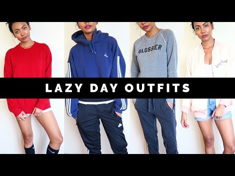 LAZY DAY OUTFITS LOOKBOOK | Asia Jackson