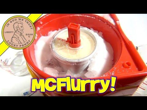 McDonald's McKids McFlurry Maker, Spinmaster Toys - Make Your Own McFlurries!