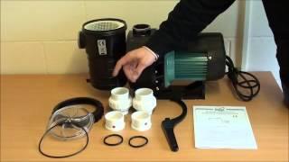 automated environmental systems mega sb series swimming pool pump