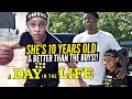 She's 10 Years Old & Better Than The Boys Her Age! Special K Breaks Ankles Like Kyrie Irving!