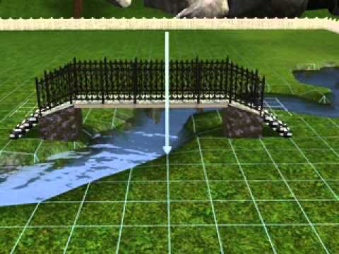 The Sims 3 speed build : witch\'s cottage with bridge - YouTube