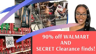 Walmart 90% off Christmas clearance AND Unmarked Secret clearance finds!