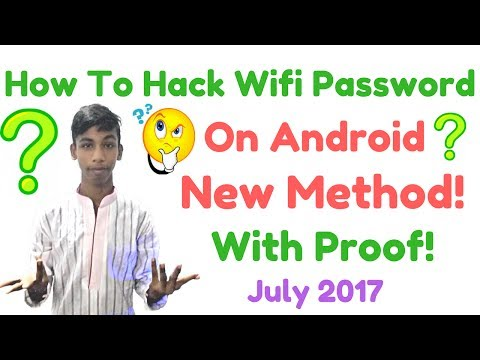 How To Hack Wifi Password In Your Android Device 2017 New 1000% Working