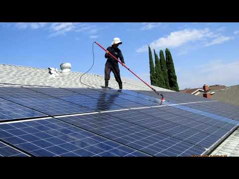 Malibu Solar Panel Cleaning Window Cleaning  Customhomedetailing.com 310-955-8760