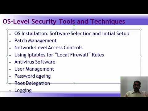 Lecture 54   Introduction to System Hardening, Defenses, Cryptographic Services   Windows and Linux