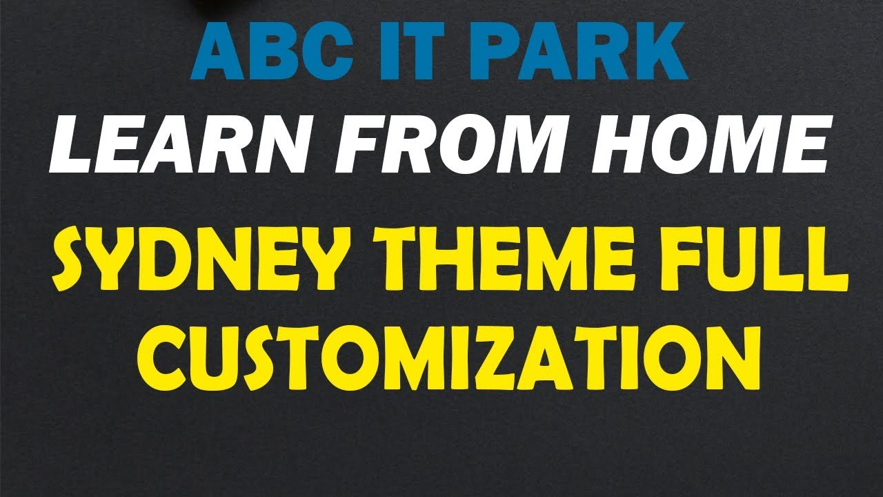 How To Make A WordPress Website With Free Domain Hosting And Sydney Theme