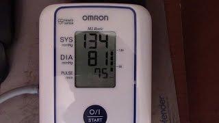 Измерение давления тонометром. Как измерить артериальное давление.