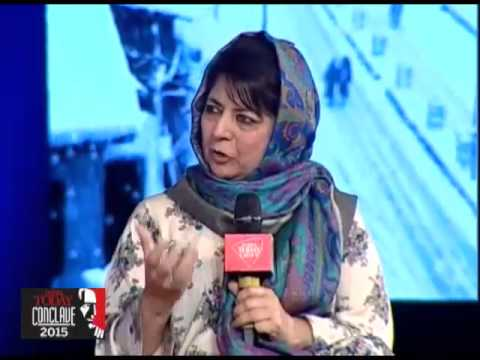 India Today Conclave 2015 - Mehbooba Mufti