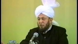Friday Sermon 10 November 1989