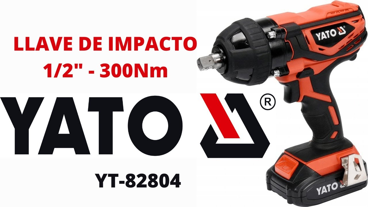 380 N.m Bater/ía de 6.0 AH Velocidad de Potente juego de llaves de impacto con luz LED 4YANG 3800RPM Llave de impacto inal/ámbrica Portabrocas de 1//2Motor sin escobillas de 21V Alto par 330 ft-lbs