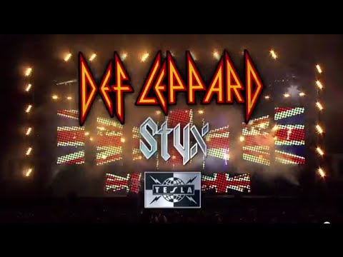 DEF LEPPARD - 2015 U.S. Tour W/ STYX & TESLA (ON SALE NOW)