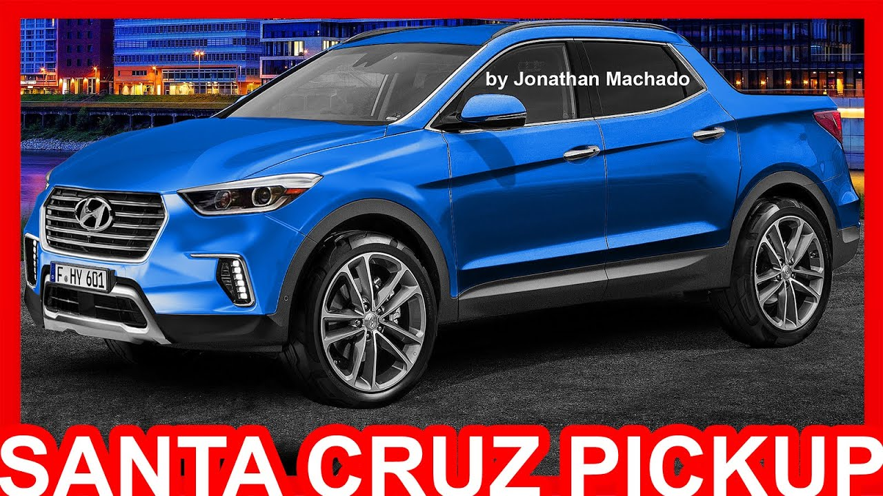Pick Up Hyundai 2017 >> Photoshop Hyundai Santa Cruz Pickup 2017 Futura Concorrente Da