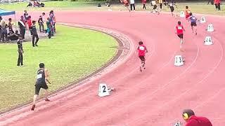 4x100 m lelaki 18 TKB..Bahagian betong