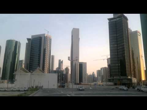 Skyscrapers in DOHA , QATAR ( west bay area )