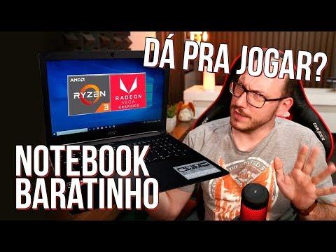 Notebook com Ryzen 3 2200U e Vega 3, dá para jogar? Testamos o Acer Aspire 3!
