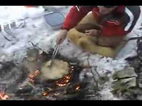 March 2008 Ice fishing trip for Saskatchewan outdoors