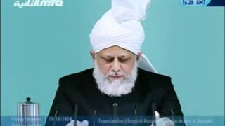 Проповедь Хазрата Мирзы Масрура Ахмада (15-10-2010)clip-7.flv