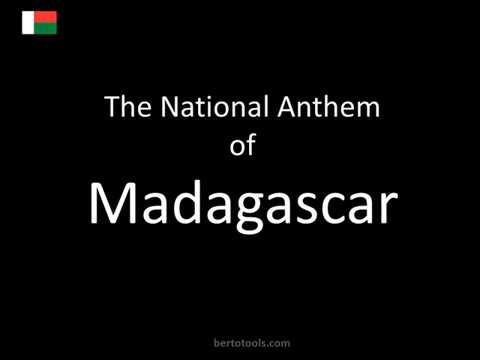 The National Anthem of Madagascar Instrumental with Lyrics