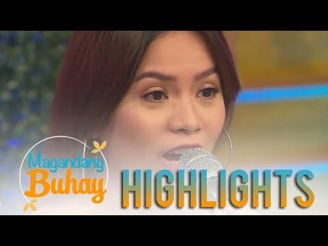 Magandang Buhay: DJ ChaCha gets emotional while sharing her story
