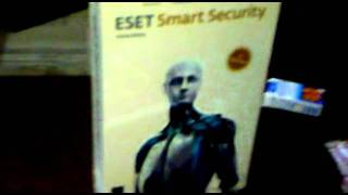 Eset Smart Security 1 & 3 User Box Pack
