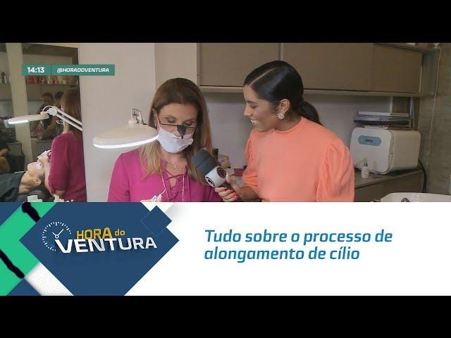 Maísa Carla conta tudo sobre o processo de alongamento de cílio - Bloco 01