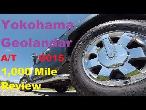 Yokohama Geolandar A/T G015 Full Review