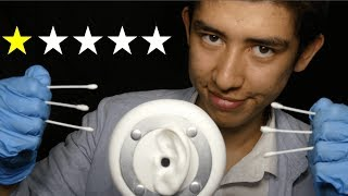 ASMR worst reviewed ear exam
