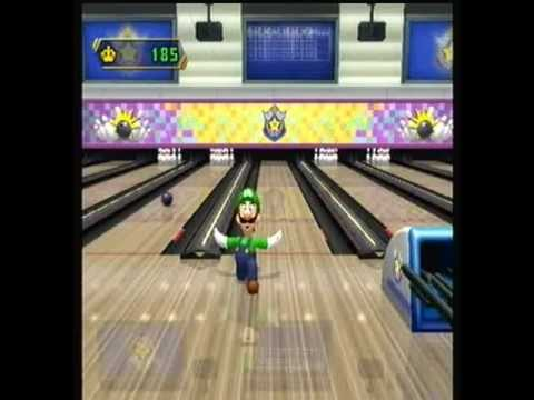 mario party 8 star carnival bowling youtube
