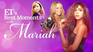 Gambar cover Mariah Carey's 50th 'Anniversary' Is Here! Watch Her 50 Best ET Moments