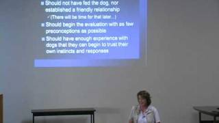 Dog Evaluations, Part 5 Of 7: A Marin Humane Society Brown Bag Talk
