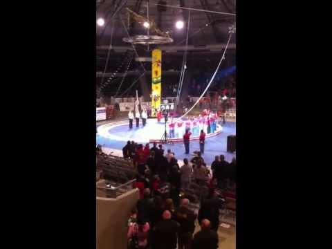 National Anthem at Akdar Shrine Circus