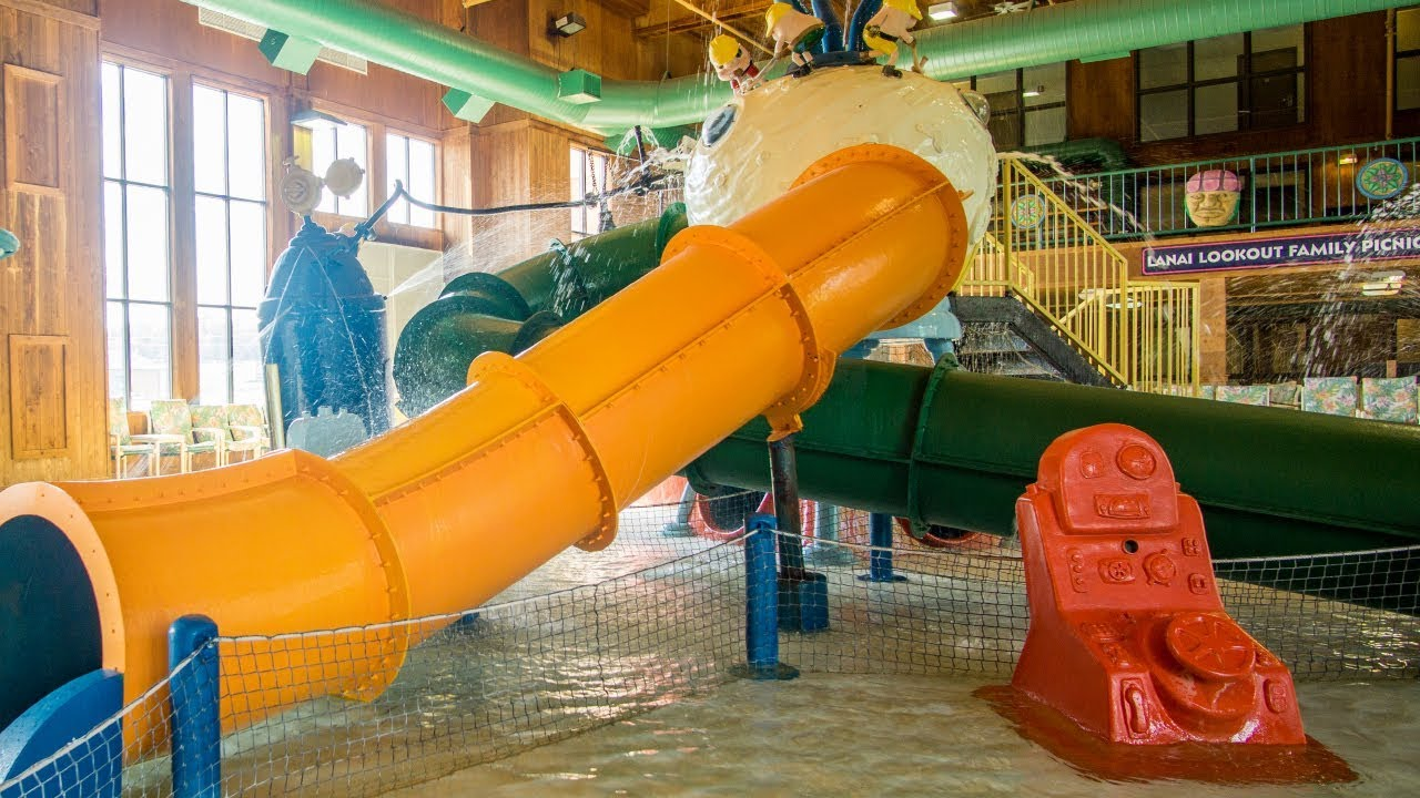 water factory kids 39 slides polynesian water park resort. Black Bedroom Furniture Sets. Home Design Ideas