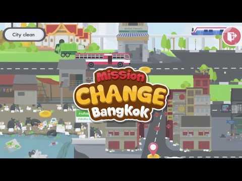 ICT SILPAKORN SHOWREEL : 'Mission Change Bangkok' - Interactive Media Learning Separate Garbage