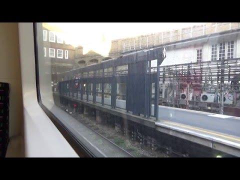 Full Journey Metropolitan Line Aldgate to Uxbridge