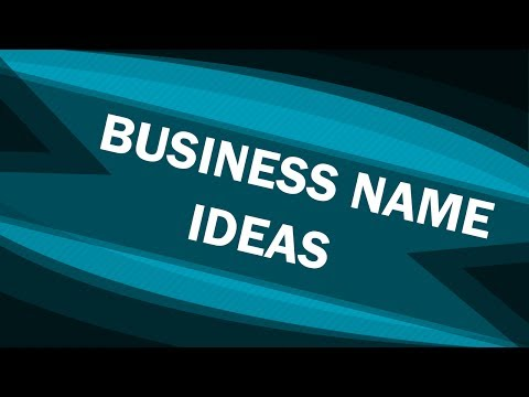 Business Name Ideas - Top Tips - Company Name Ideas
