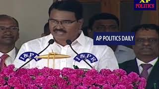 Singireddy Niranjan Reddy Takes Oath As Telangana Cabinet Minister   AP Politics Daily