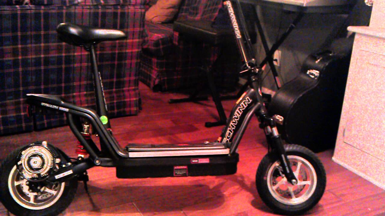 maxresdefault bug out scooter schwinn stealth 1000 youtube Schwinn Stealth S1000 at creativeand.co