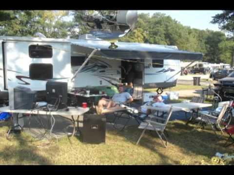 Talladega Race camping & karaoke 2009